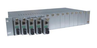 Slot Media Converter Chassis CCR-2U-14-SNMP